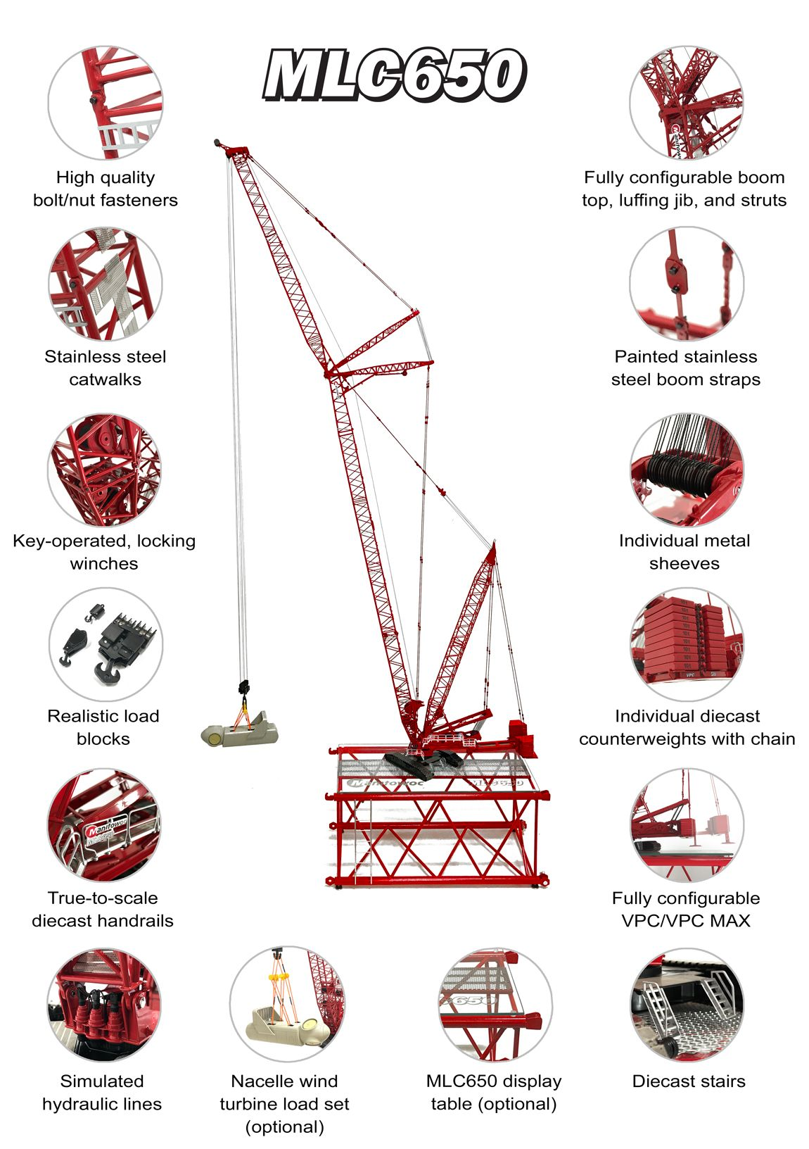 Weiss Brothers Towsley s Manitowoc MLC650 Lattice-Boom